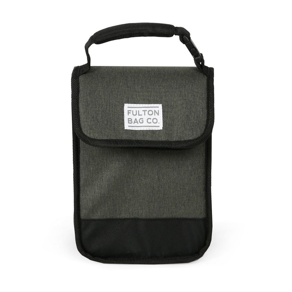 Image of Fulton Bag Co. Munchsak Lunch Bag - Olive/Black