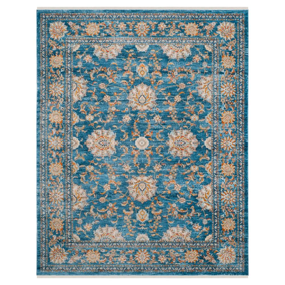 Vintage Persian Rug - Turquoise/Multi - (9'X11'7) - Safavieh