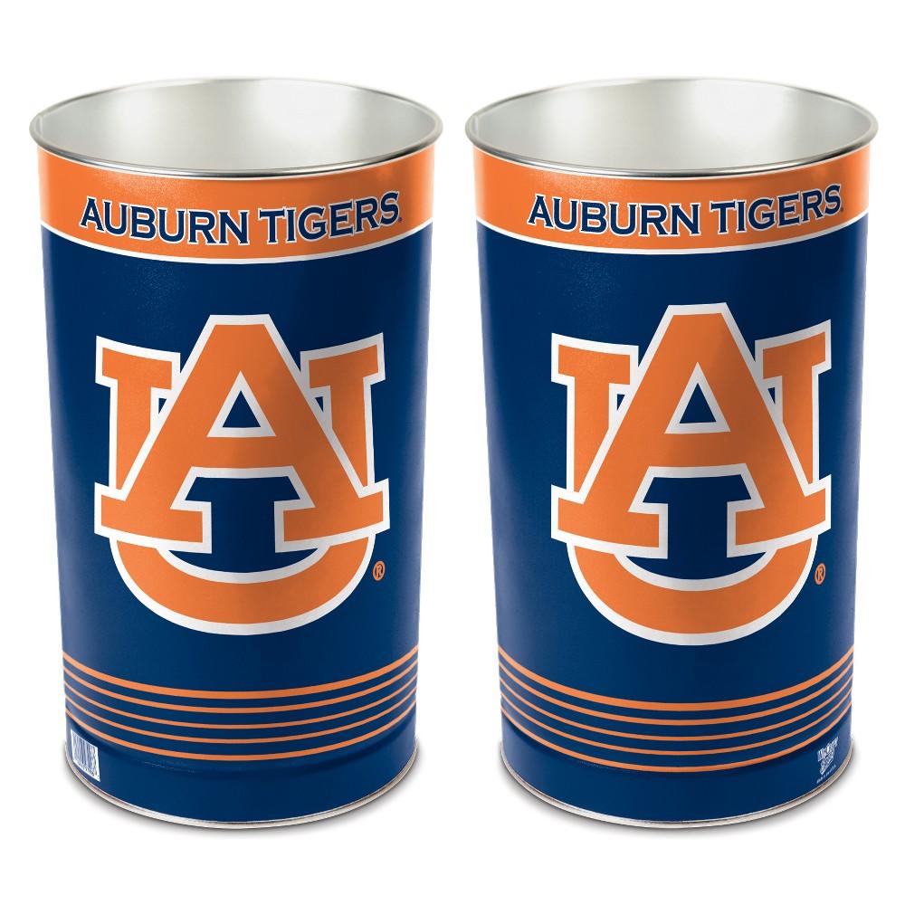 NCAA Auburn Tigers Tall Waste Basket