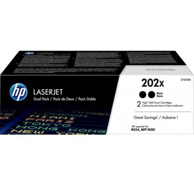 HP Inc. HP 202X Black Toner Cartridge, High Yield CF500XD