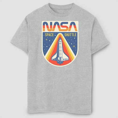Boys' Go For Liftoff T-Shirt - Gray - image 1 of 2