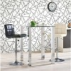 """RoomMates 28.2"""" Fracture P&S Wallpaper Black/White - image 2 of 4"""