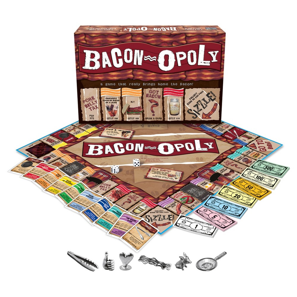 Bacon opoly Game, Board Games
