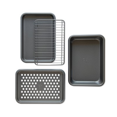4pc Toaster Oven Bakeware Set - Made By Design™