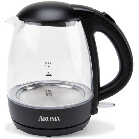 Aroma 1.2L Glass Kettle - image 1 of 4