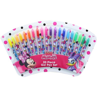 Innovative Designs Disney Minnie Mouse and Daisy 20 Piece Gel Pen Set
