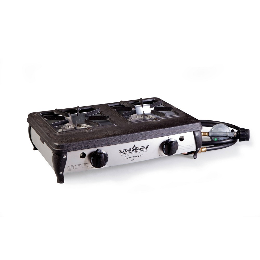 Image of Camp Chef 2-Ranger Burner Stove - Black