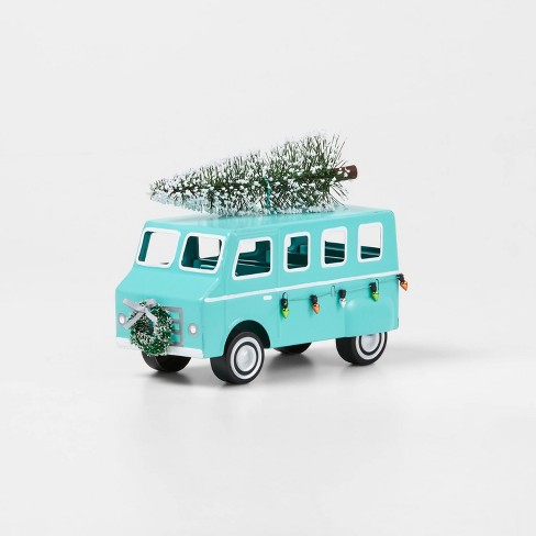 Car With Christmas Tree On Top Decoration  from target.scene7.com