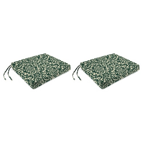 Outdoor Set Of 2 French Edge Seat Cushions In Duncan Hunter  - Jordan Manufacturing - image 1 of 1