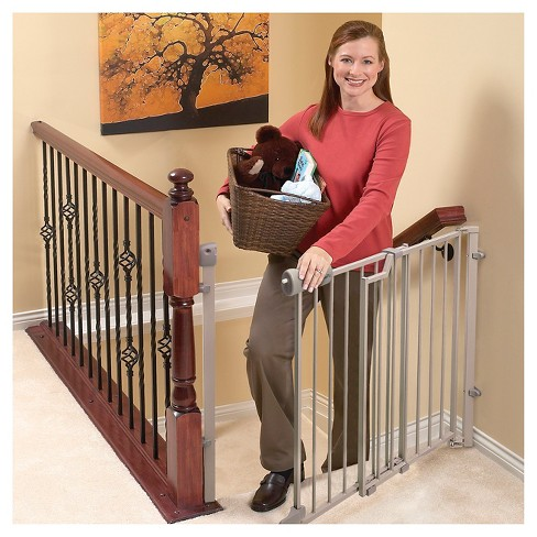 Evenflo Secure Step Top Of Stair Baby Gate Target