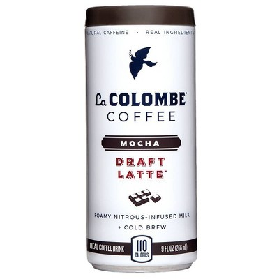 La Colombe Draft Latte Mocha - 9 fl oz Can