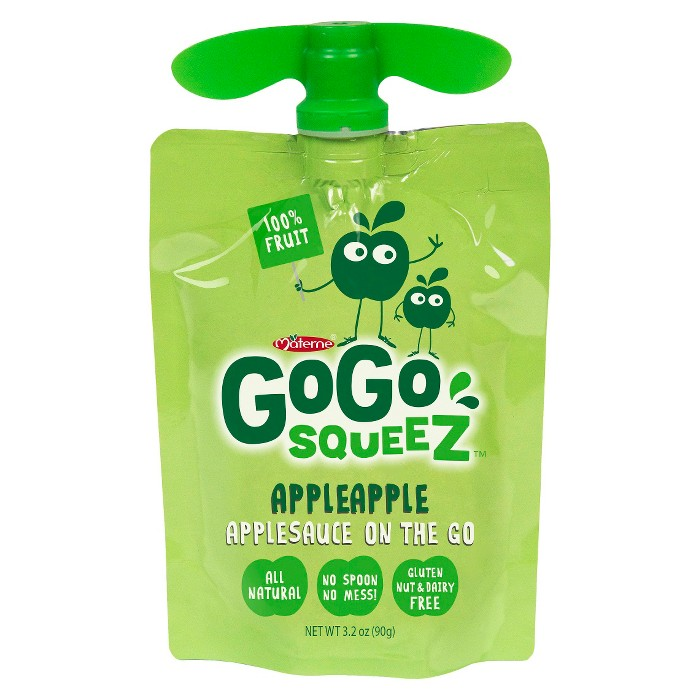 Gogo Squeez Applesauce On The Go Pouch - 3.2oz - image 1 of 2
