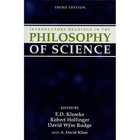 Introductory Readings in the Philosophy of Science - 3 Edition (Paperback) - image 1 of 1