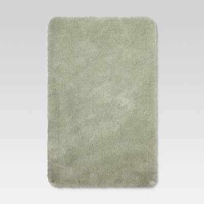 37 x23  Performance Nylon Bath Rug Light Sage Green - Threshold™
