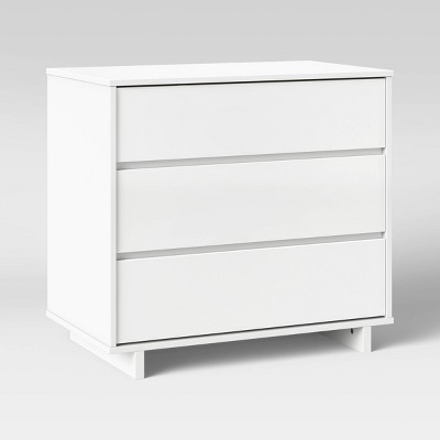 Modern 3 Drawer Dresser White - Room Essentials™
