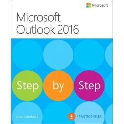 Microsoft Outlook 2016 Step by Step - by  Joan Lambert (Paperback)