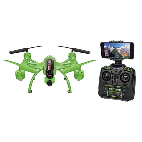 Glow In The Dark Mini Orion Camera Drone Live View 24ghz Rc
