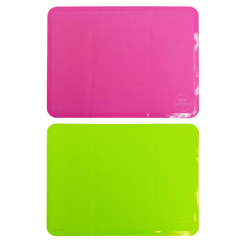 Image of Neat Solutions 2pk Sili-Stick Table Topper - Pink