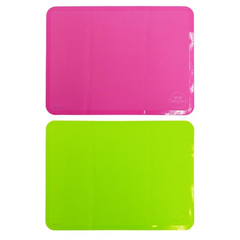 Neat Solutions 2pk Sili-Stick Table Topper - Pink - image 1 of 1