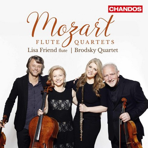 Lisa Friend - Mozart:Complete Flute Quartets (CD) - image 1 of 1