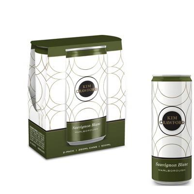 Kim Crawford Sauvignon Blanc White Wine - 2pk/250ml Cans