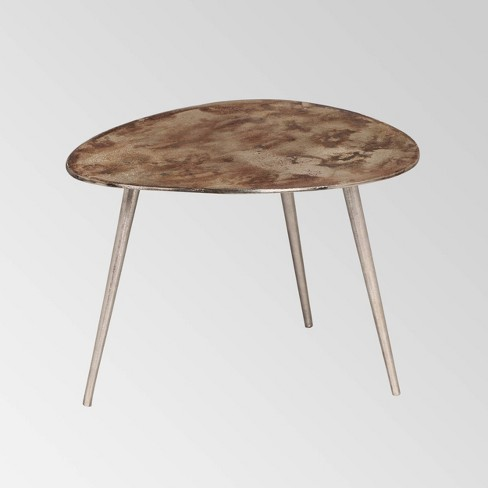 Gove Industrial Modern End Table Gray - Christopher Knight Home - image 1 of 4
