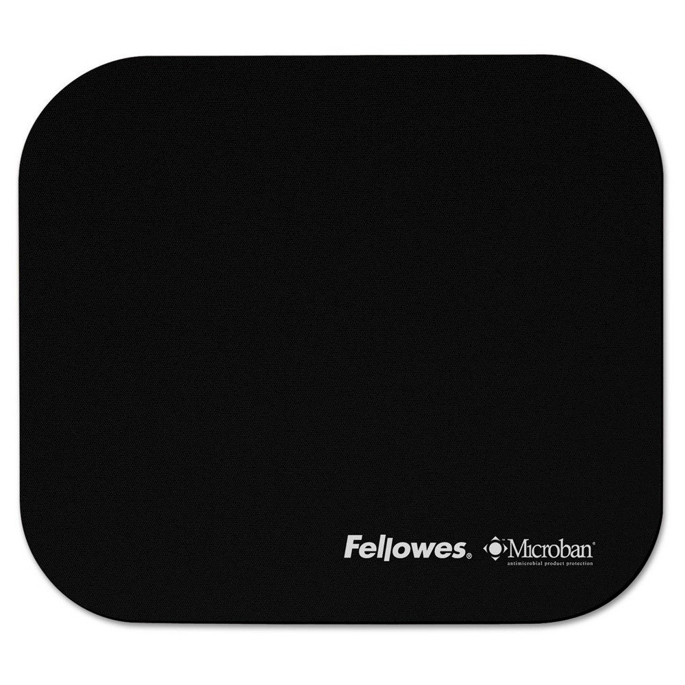 Image of Fellowes Microban Mouse Pad - Black