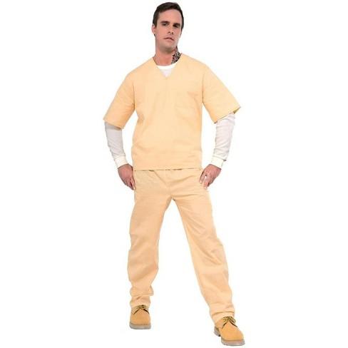 Orange is the New Black Beige Prisoner Suit Costume Adult Standard - image 1 of 1