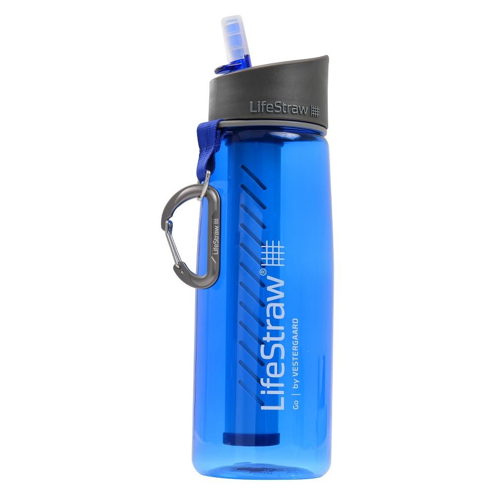 LifeStraw 2-Stage Filtration Water Bottle - Blue (23oz)