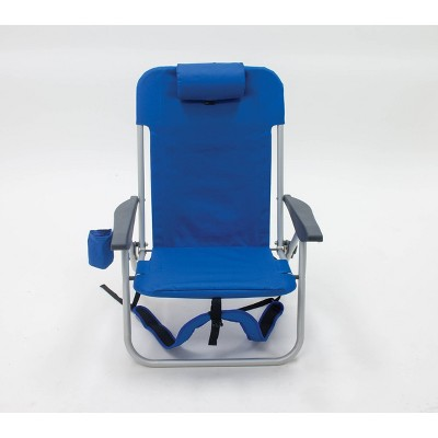 Folding Backpack Chair Blue - Room Essentials™