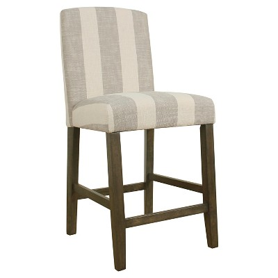 """24"""" Curved Top Counter Height Barstool - HomePop"""