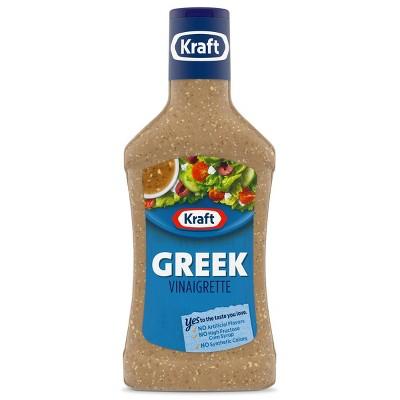 Kraft Greek Vinaigrette Salad Dressing - 16 fl oz