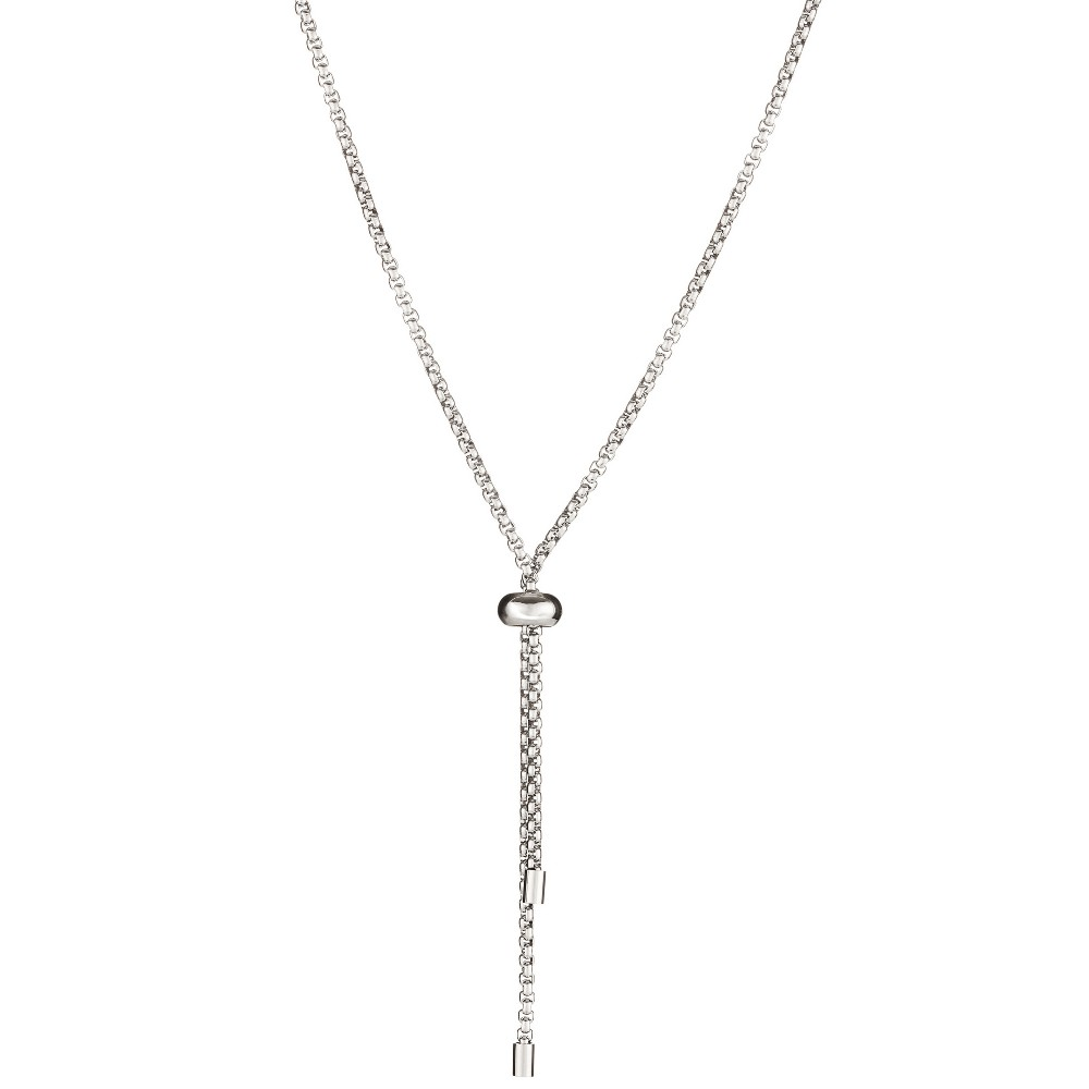 """Image of """"ELYA Box Chain Necklace - Silver (32""""""""), Women's"""""""