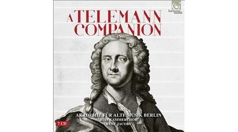 Various - Telemann Companion (CD) - image 1 of 1