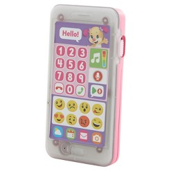 Fisher-Price Laugh and Learn Leave A Message Smart Phone Pink