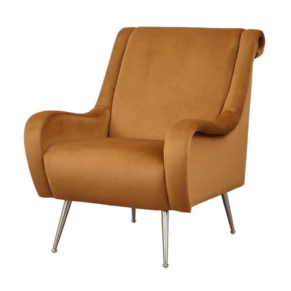 Image of Capri Chair Caramel Brown - Lifestorey