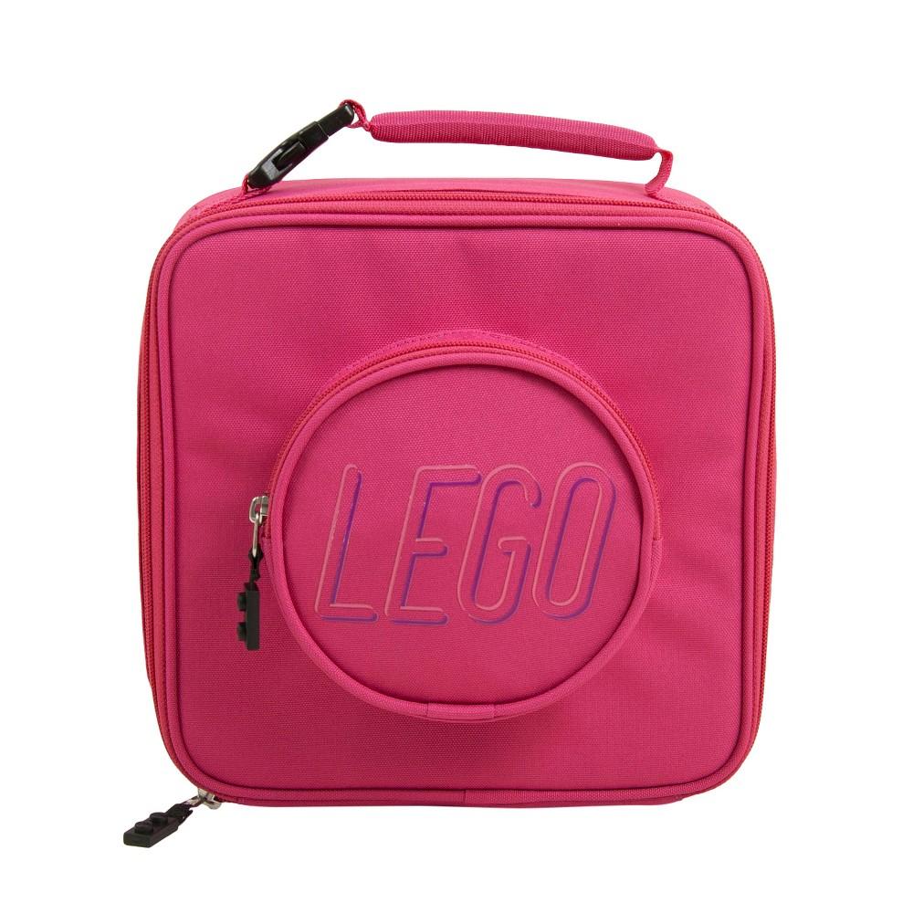 Image of Lego Brick Eco Lunch Bag Backpack - Pink