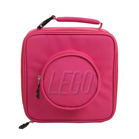 LEGO Brick Lunch Bag - Pink - image 1 of 4