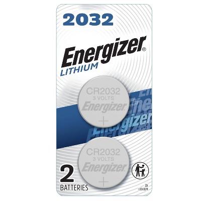 Energizer 2pk 2032 Batteries Lithium Coin Battery