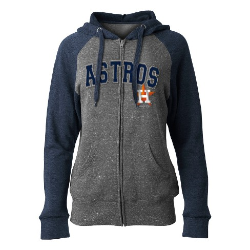 MLB Houston Astros Women's On Deck Full Zip Hoodie - image 1 of 1