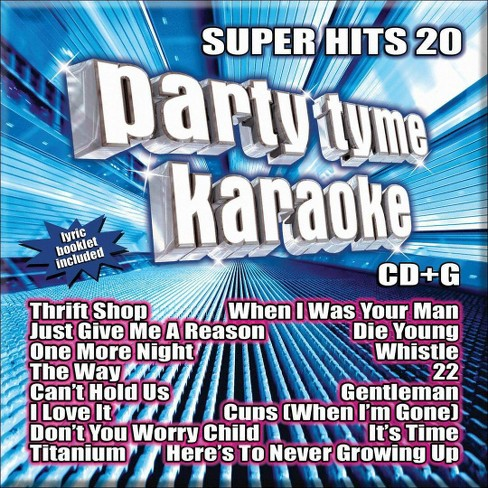 Party Tyme Karaoke: Super Hits 20 - image 1 of 1