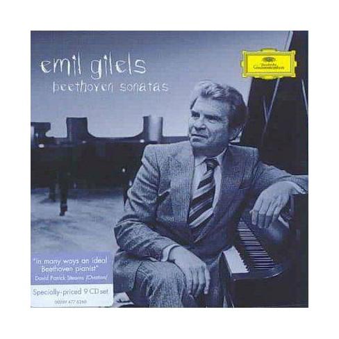 Emil [Piano]  Ludwig v.; Gilels Beethoven - Beethoven: Piano Sonatas (CD) - image 1 of 1