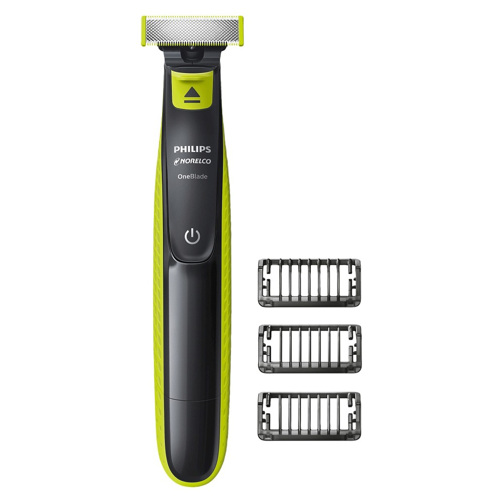 Image of Philips Norelco OneBlade Hybrid Rechargeable Men's Electric Shaver and Trimmer - QP2520/70