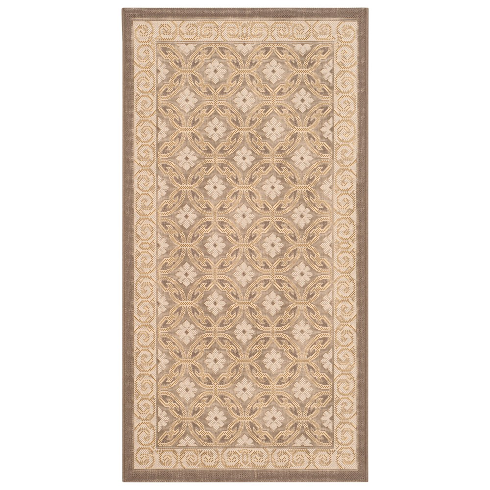 Ainsworth Rectangle 4' X 5'7 Outer Patio Rug - Beige - Safavieh