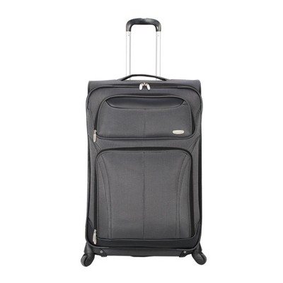 "Skyline 21"" Spinner Carry On Suitcase - Gray"