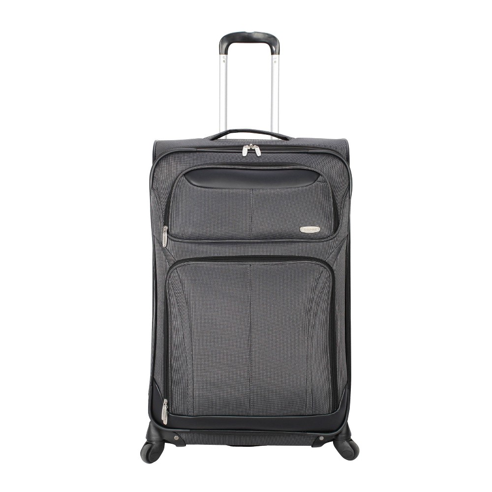 """Image of """"Skyline 21"""""""" Spinner Carry On Suitcase - Gray, Grey"""""""