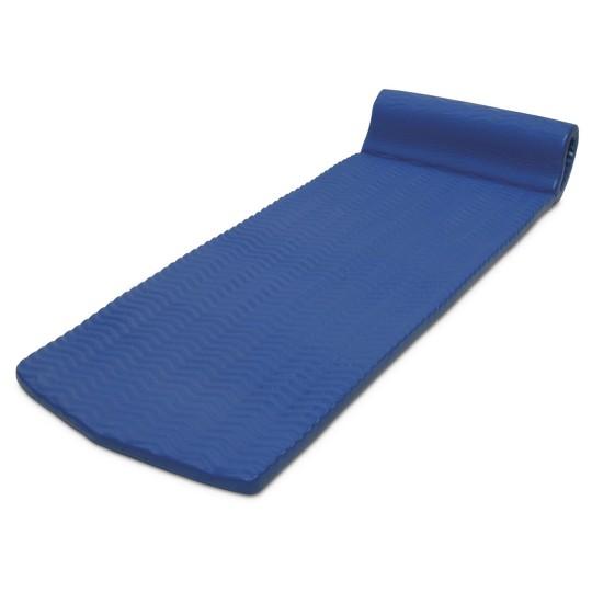 Poolmaster Soft Tropic Comfort Mattress - Blue, Adult Unisex image number null