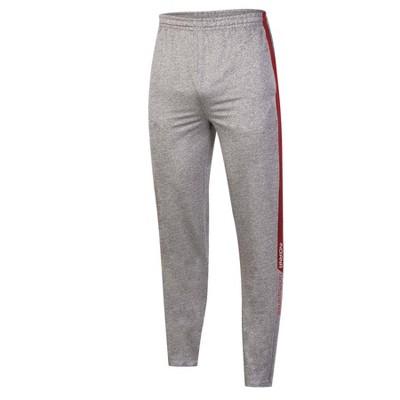 NCAA Indiana Hoosiers Men's Gray Athletic Jogger Pants