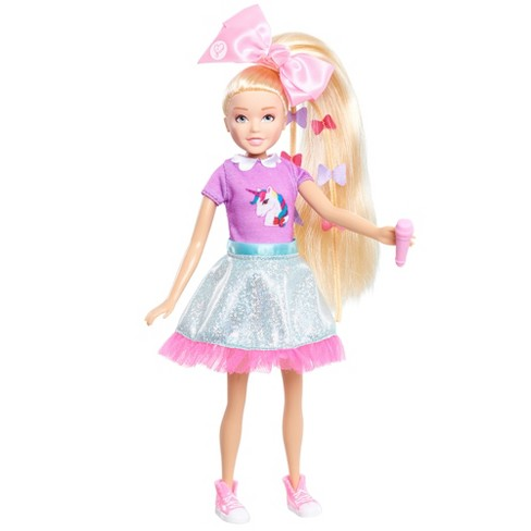 jojo siwa singing doll kid in a candy store target