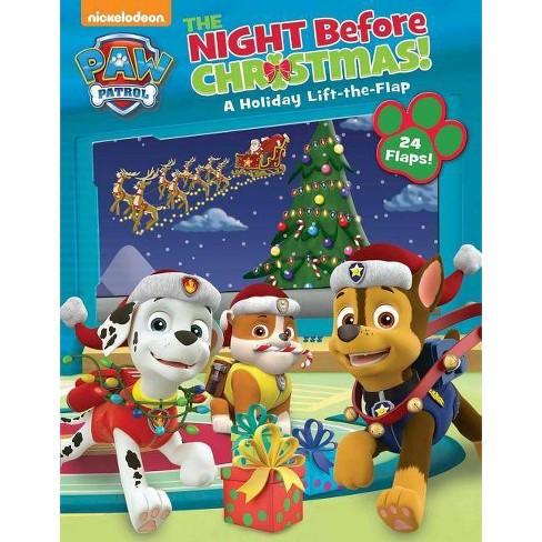 Paw Patrol Christmas.Nickelodeon Paw Patrol The Night Before Christmas Board Book